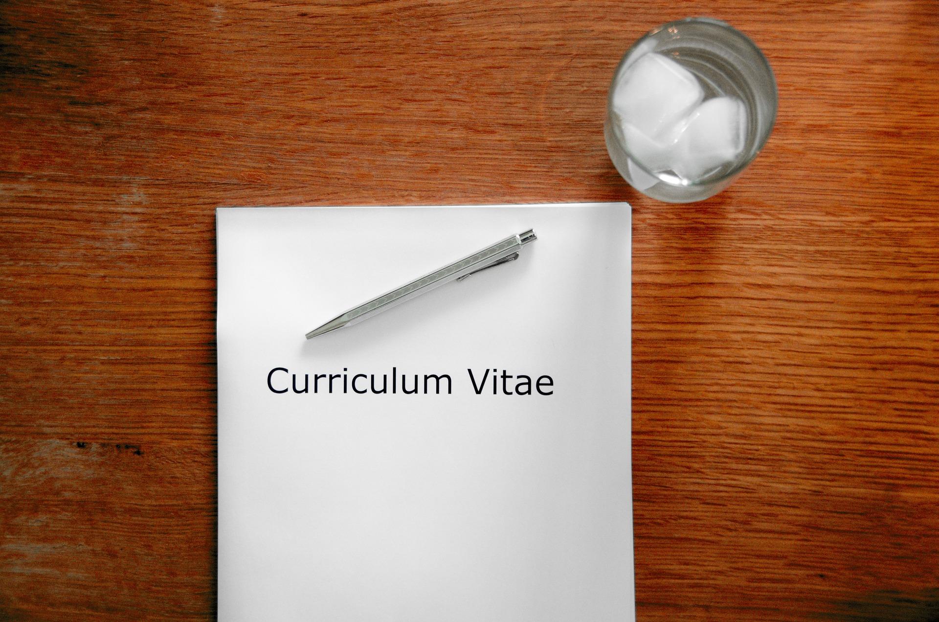 executive cv cover